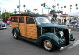 1936 Ford woodie - Taken at the Belmont Shore 2002 Car Show