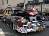 1950 Chevrolet  lowrider woodie - Taken at the Belmont Shore 2002 Car Show