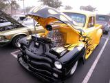 Hot Chevy pickup - Sunday Morning meet held at Golden West and Edinger