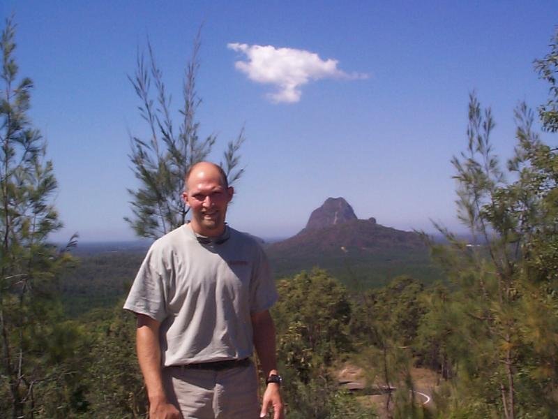 The Glasshouse Mountians near Noosa  -- lovely drive