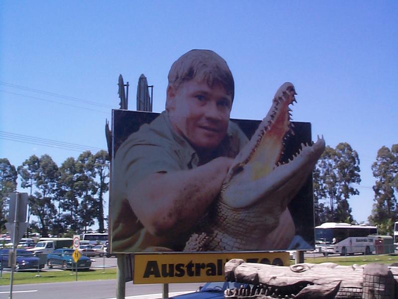 Steve, the crocodile man, is EVERYWHERE & 2 stories tall!!!