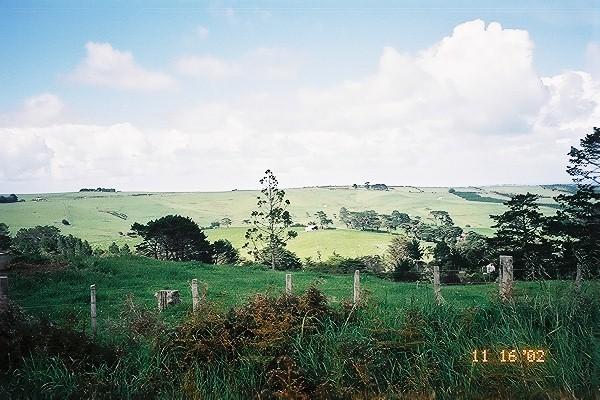 Lots & Lots of green rolling hillside