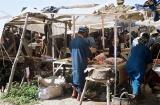 Voyage au Maroc - Souk rural à Ad Drah, un boucher