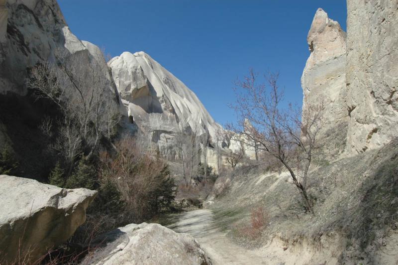 Valleys near Goreme 7074