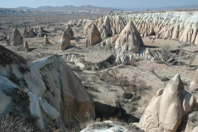 Valleys near Goreme 7196
