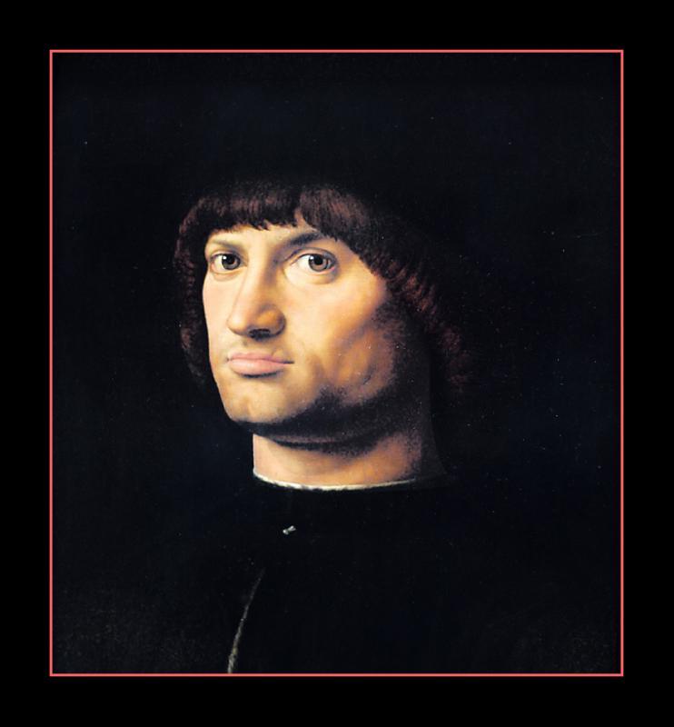 Le Condotierre  ( 1475 ) par ANTONELLO DA MESSINA