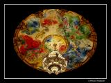 The ceiling, Painted by Chagall