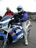 Dale and his Suzuki