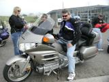 John tries Darcy's Gold Wing