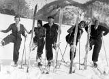 Ski des années 30