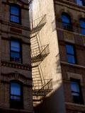 Blue Windows and Fire Escape, Clinton St. #3306