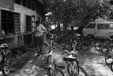 Washing Bicycles