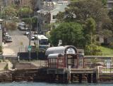 Ferry wharf at Darling Street Balmain