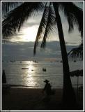The beach at Pattaya