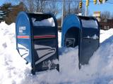 day after blizzard - can't stop the mail