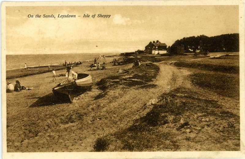 On the sands, Leysdown