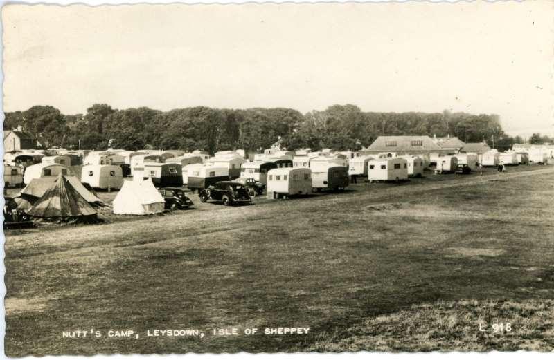Nutts Camp, Leysdown 1961