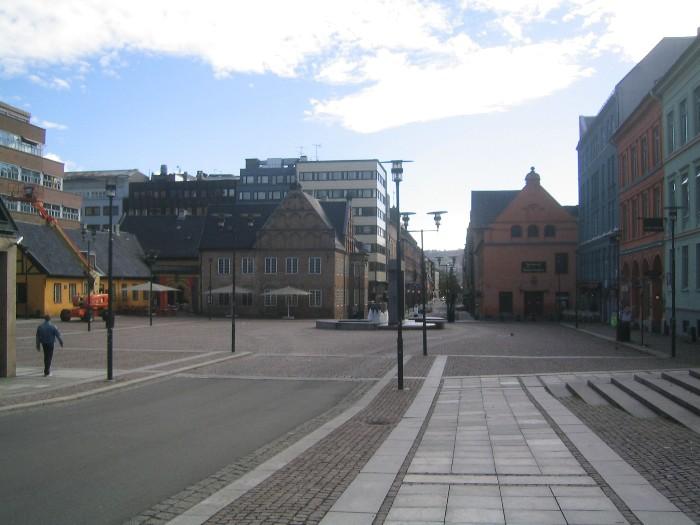 Christiania Torv in Morning.JPG