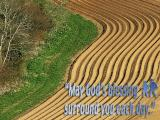 'May Gods blessing surround you…' slide from the Cadbury Castle series