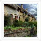 Row of thatch, Norton-sub-Hamdon, Somerset