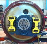 Repairing a trainwheel