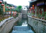 ditch,Lijiang ancient town 4