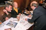 (L-R) Dietmar Francke, Tim Weil and Guido Deboeck