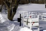 Jan. 27, 2005 - Mailboxes & Fencelines