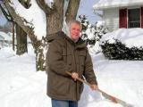 Terry Shovelling