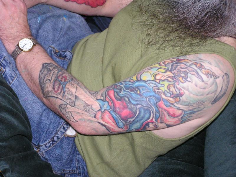 The old one, other arm 1