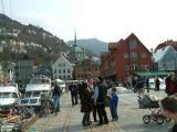 Korskirken in a distance-Munthes Church in Bergen