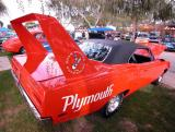 021 - Plymouth Roadrunner Superbird -  Cruisin' for a Cure 2002