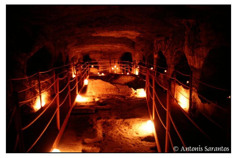 Milos Island Catacombes
