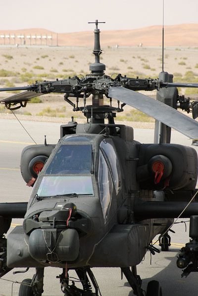 UAE Air Force Apache AH-64 helicopter