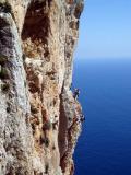 2005 Costa Blanca Rock climbing on the Penon, Costa Blanca
