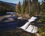 Otter Falls, Wells Gray Park, B.C.