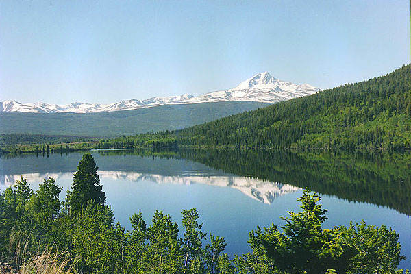Mount Tatlow, Vedan Lake, Chilcotin  B.C.