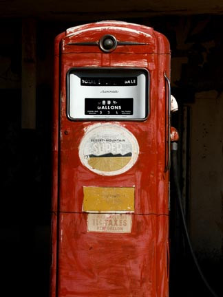 Gas Pump, Route 66