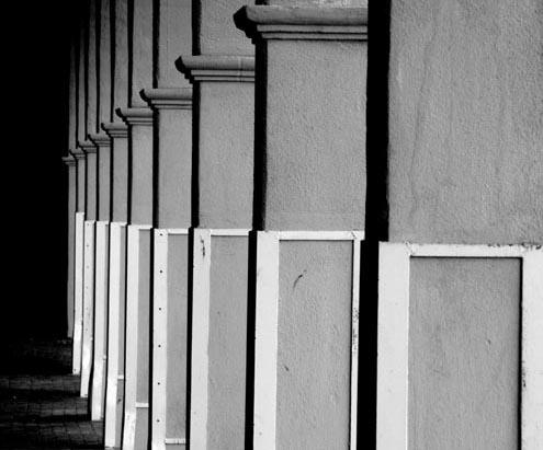 Columns, Barstow, CA
