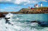 The Cape Neddick Lighthouse (Nubble Light)
