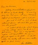 Letter to Hilda (Richard's mother) about Paul (Richard's father ) as a civil engineer  - written after Paul's death (1987)