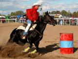 The Brigden Fair Barrel Racing 2002
