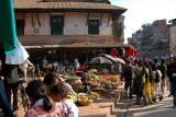 Patan Market Scene