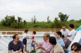 Ferry ride on the Mekong,