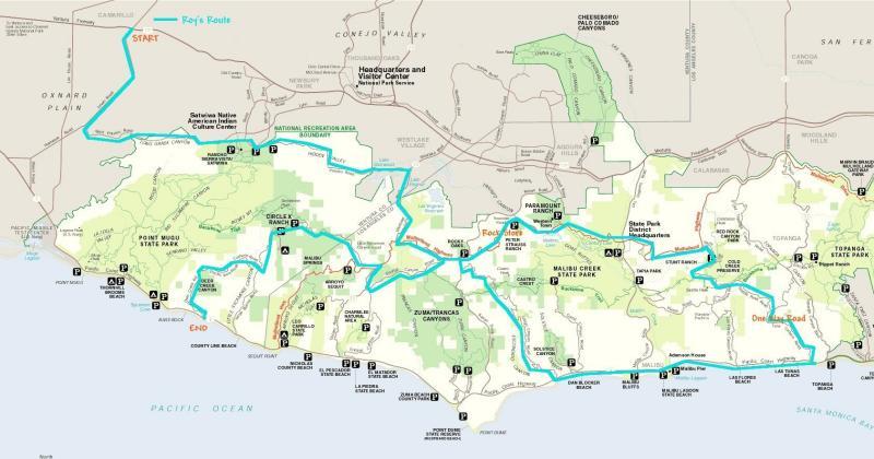 Santa Monica Route