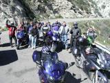 Break stop on Sand Canyon