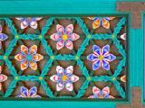 Detail of door decoration on Temple