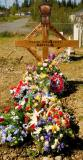 Alberts grave..