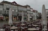 Umbrellas folded -Viana Do Castelo