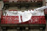 Clothes at balcony - Braga